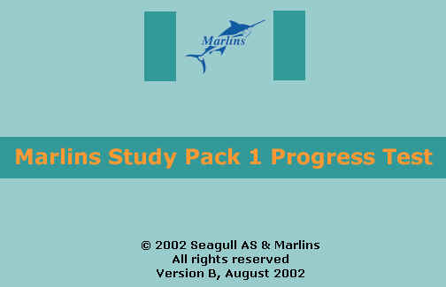 Marlins Study Pack I Progress Test
