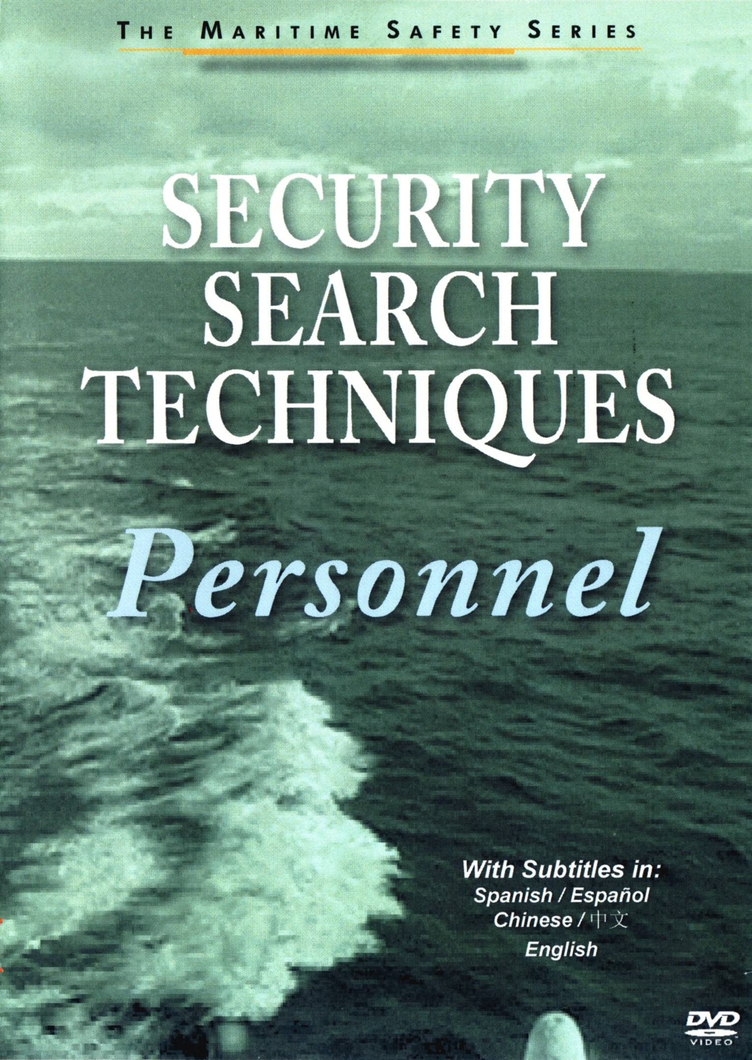 Security Search Techniques: Personnel