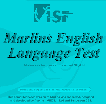 Marlins English Language Test
